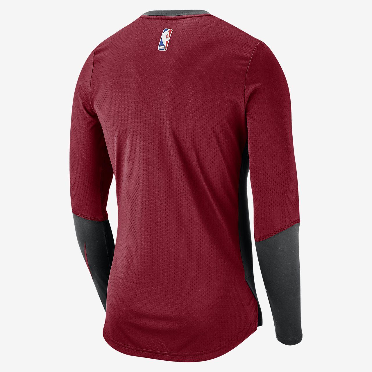 164f25aaf92 Miami Heat Nike Dri-FIT Men s Long-Sleeve NBA Top. Nike.com