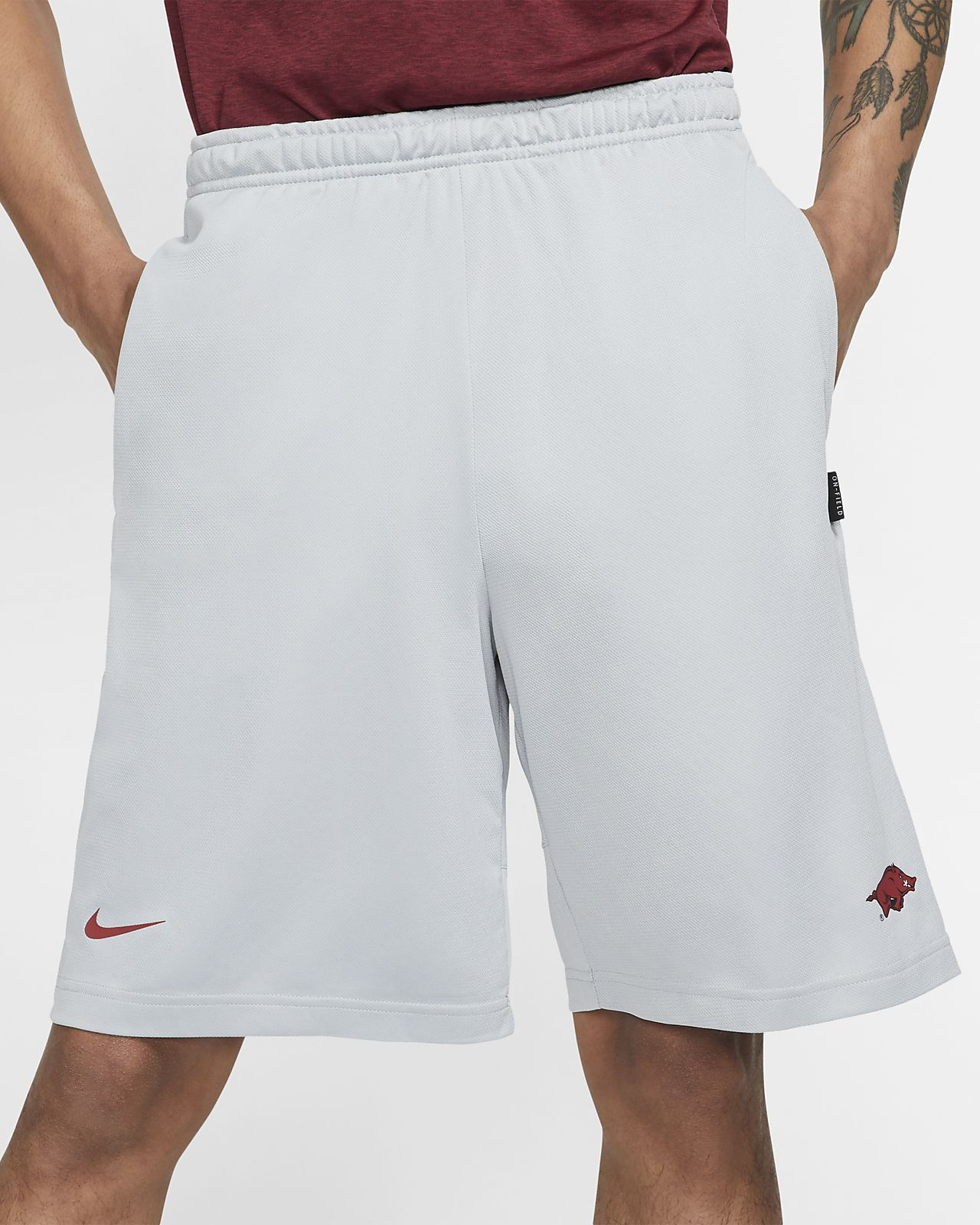 Nike College Dri-FIT Coach (Arkansas) Men's Shorts