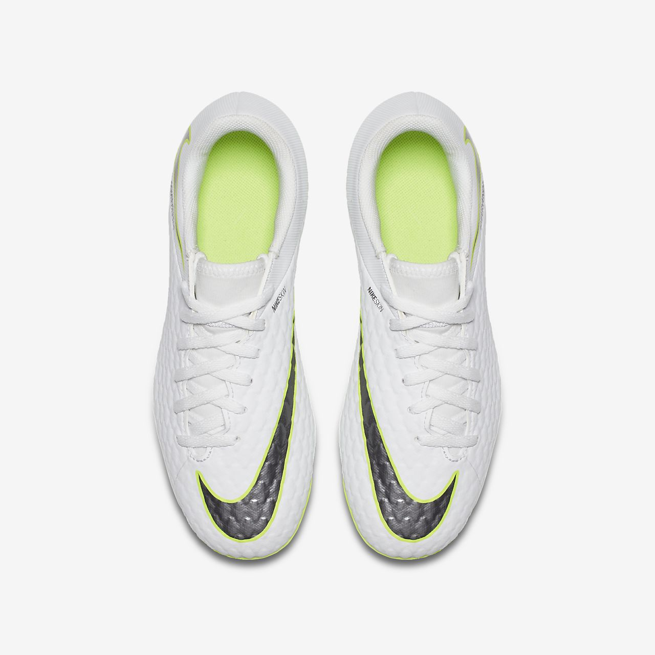 Nike Jr. Hypervenom Phantom III Academy Just Do It YoungerOlder Kids' Firm Ground Football Boot