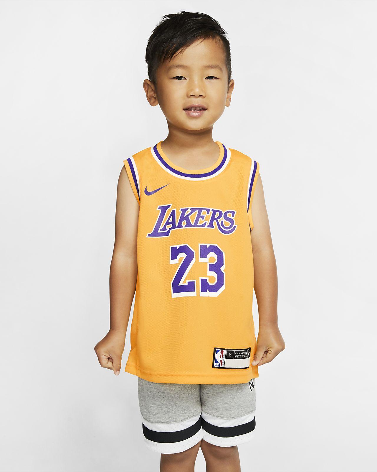 洛杉矶湖人队 Replica IconNike NBA  幼童球衣