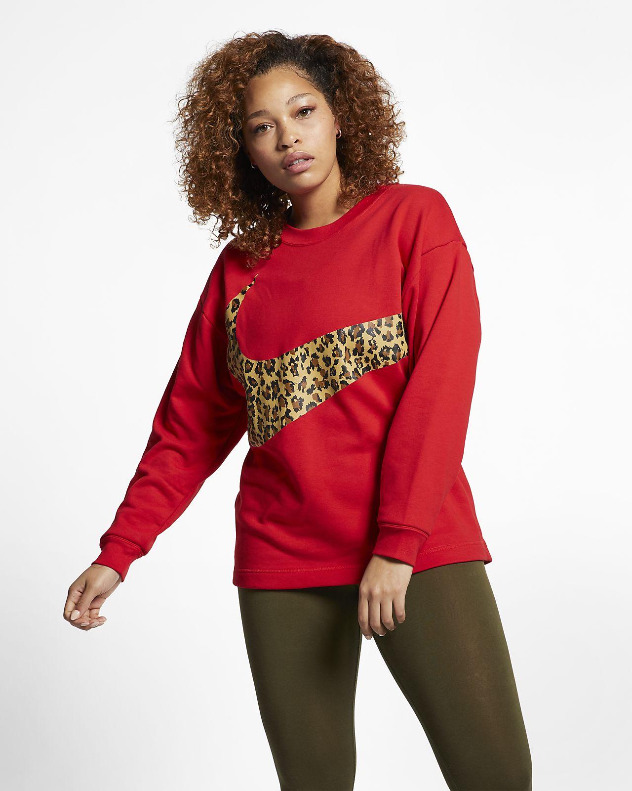 Nike Sportswear Women's Animal Crew (Plus Size)