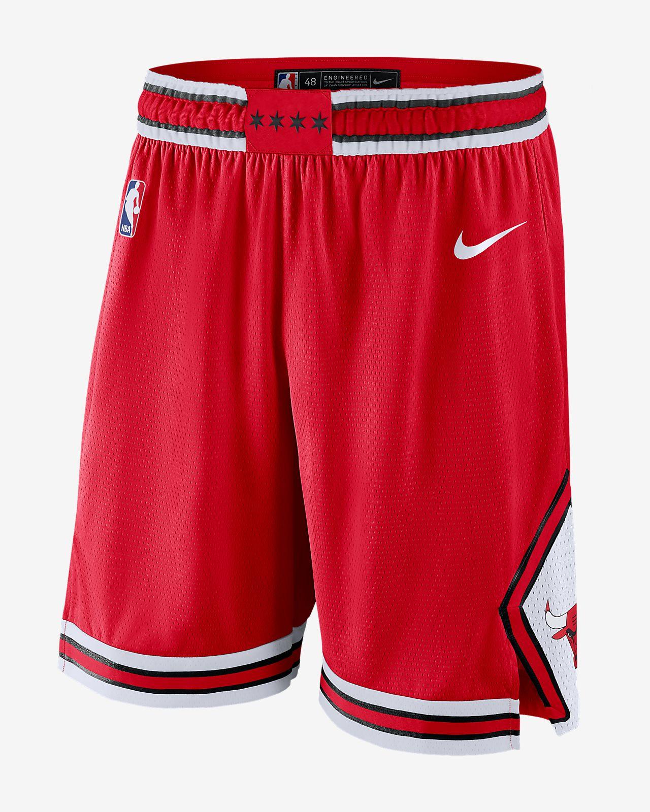 Calções NBA Nike Chicago Bulls Icon Edition Swingman para homem