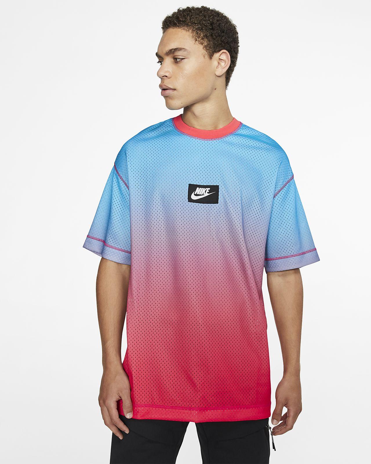 Męska koszulka z krótkim rękawem z siateczki Nike Sportswear