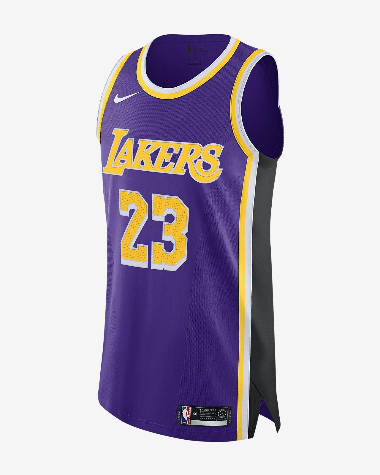 LeBron James Statement Edition Authentic (Los Angeles Lakers) Men s ... 0d5ee3135
