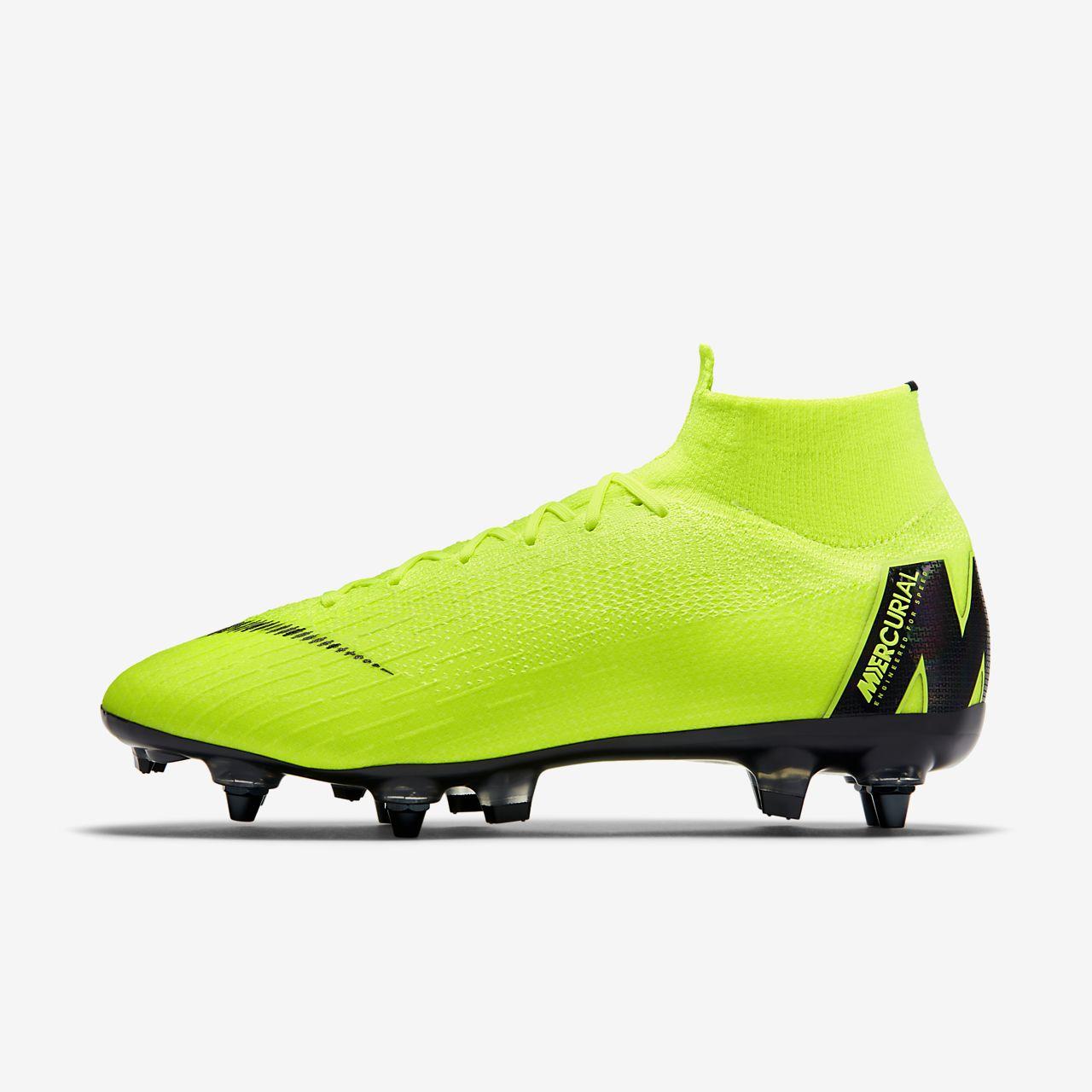 pretty nice f61c3 64543 ... Chaussure de football à crampons pour terrain gras Nike Mercurial  Superfly 360 Elite SG-PRO