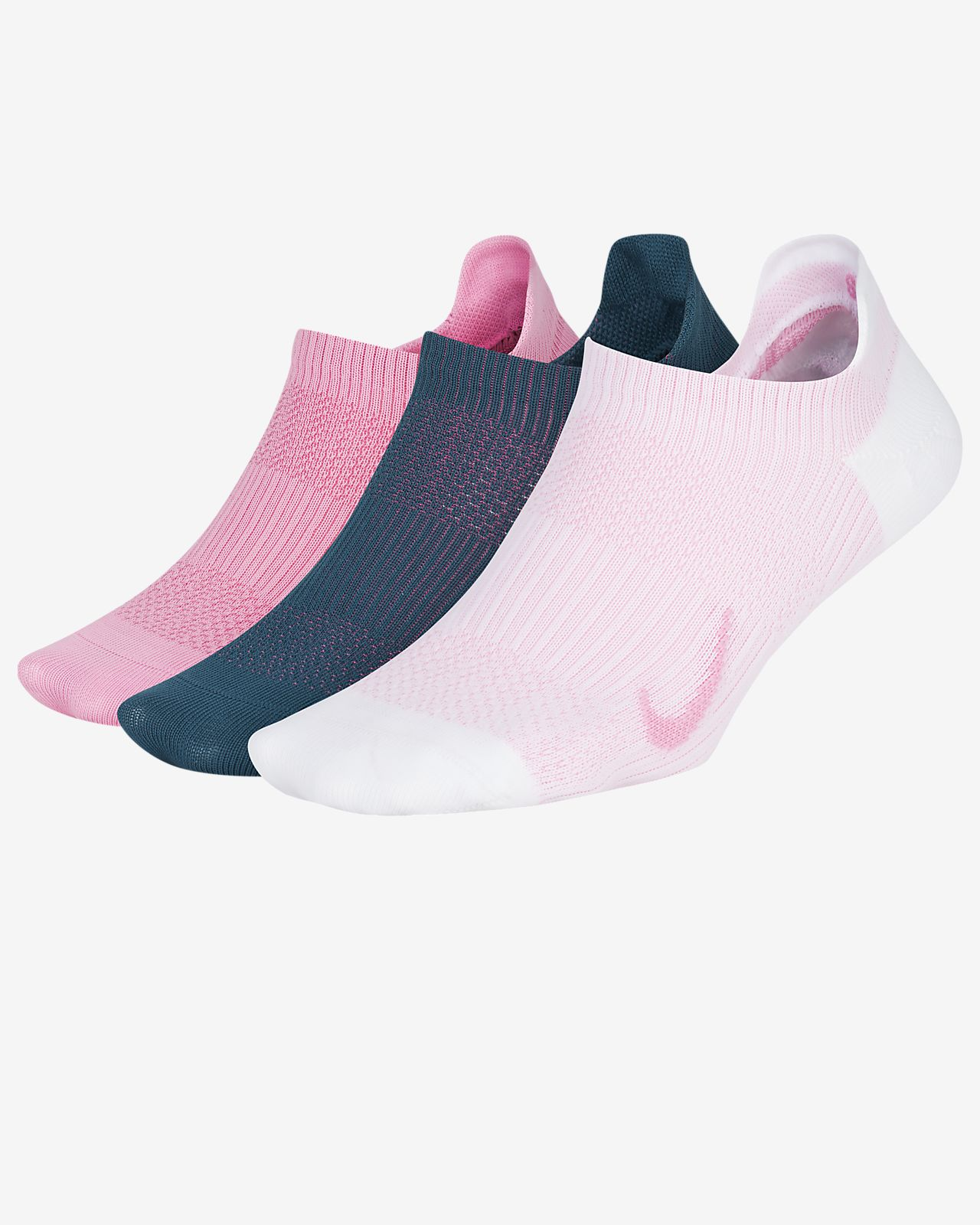 03cb93613f Women's Training No-Show Socks (3 Pair). Nike Everyday Plus Lightweight