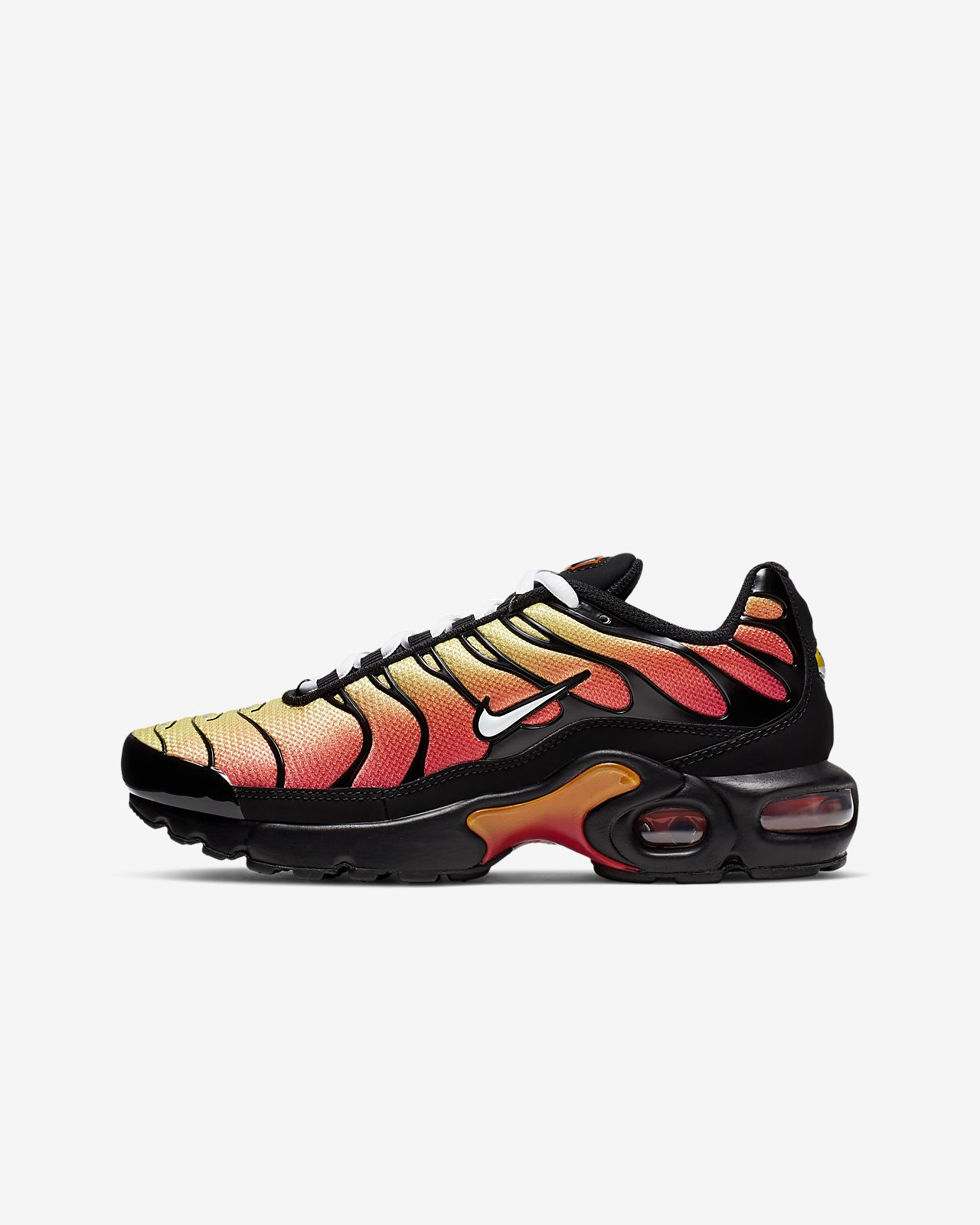 nike air max plus schwarz kinder