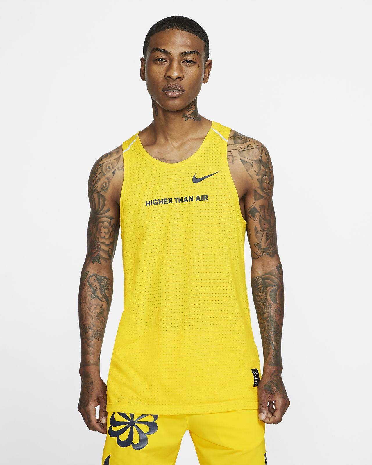 Nike Rise 365–løbetanktop med grafik til mænd