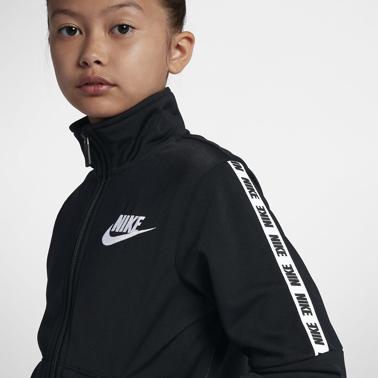 de6f95fd Nike Sportswear Big Kids' (Girls') Tracksuit. Nike.com