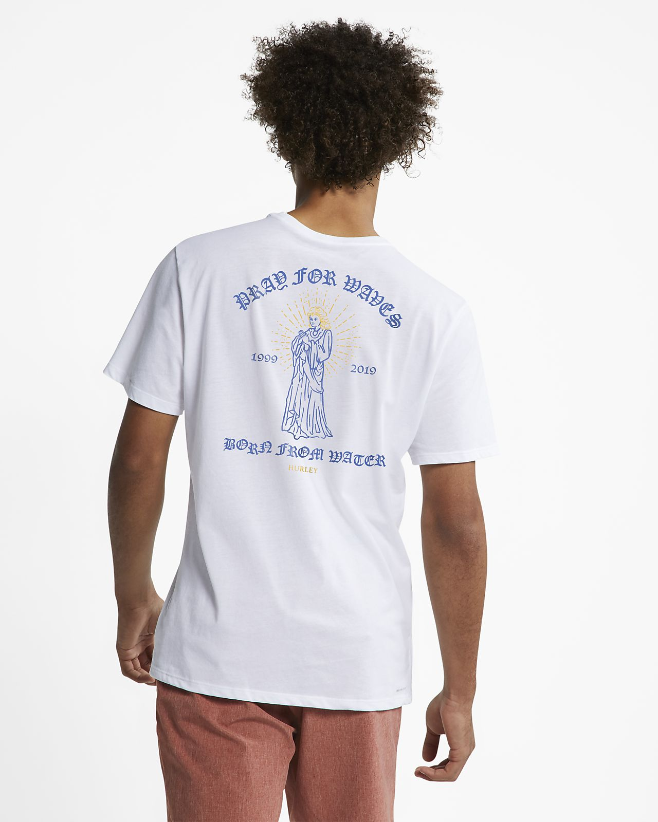 Hurley Dri-FIT Pray For Waves T-shirt voor heren