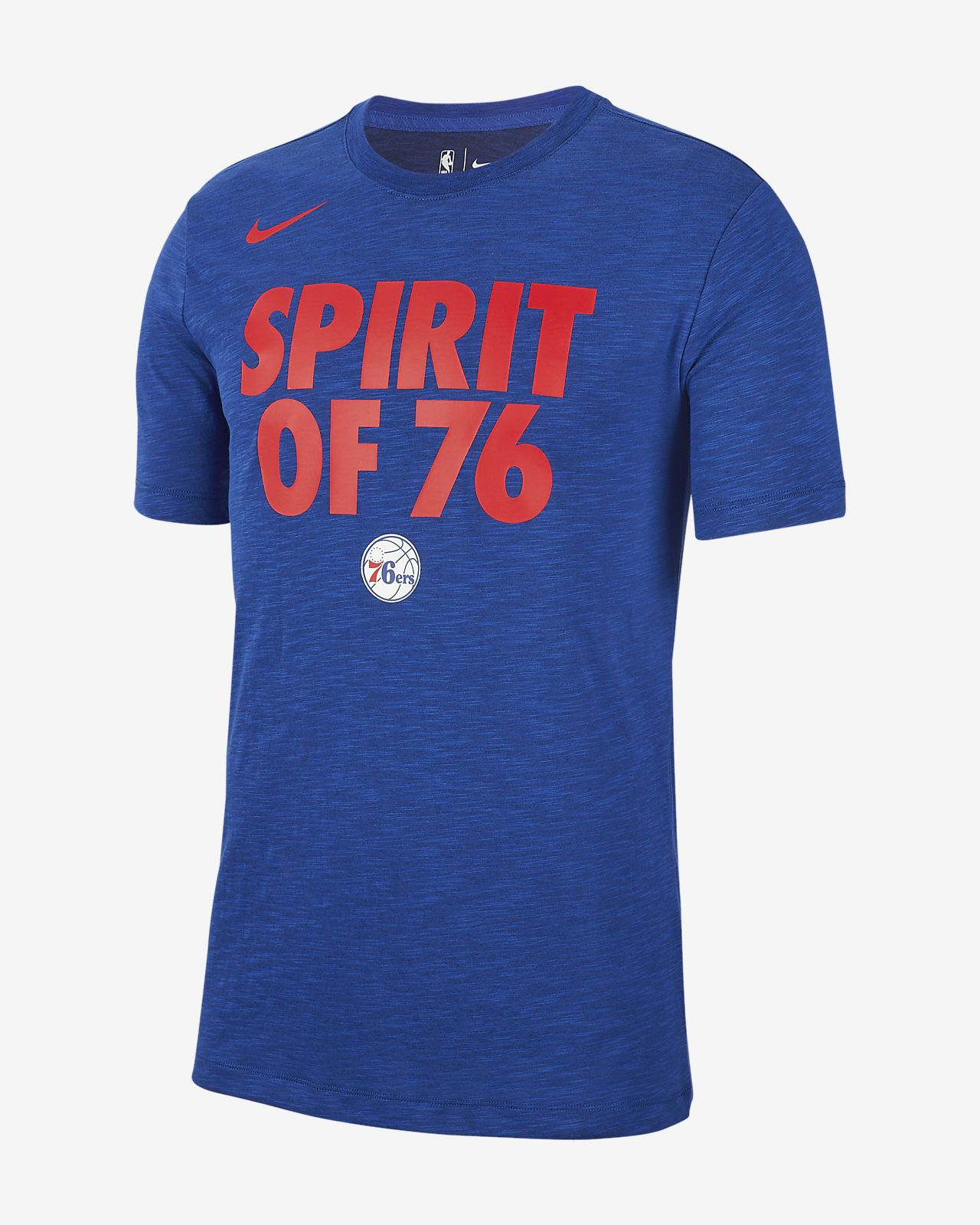 89c4bd8fcba9 Philadelphia 76ers Nike Dri-FIT Men s NBA T-Shirt. Nike.com
