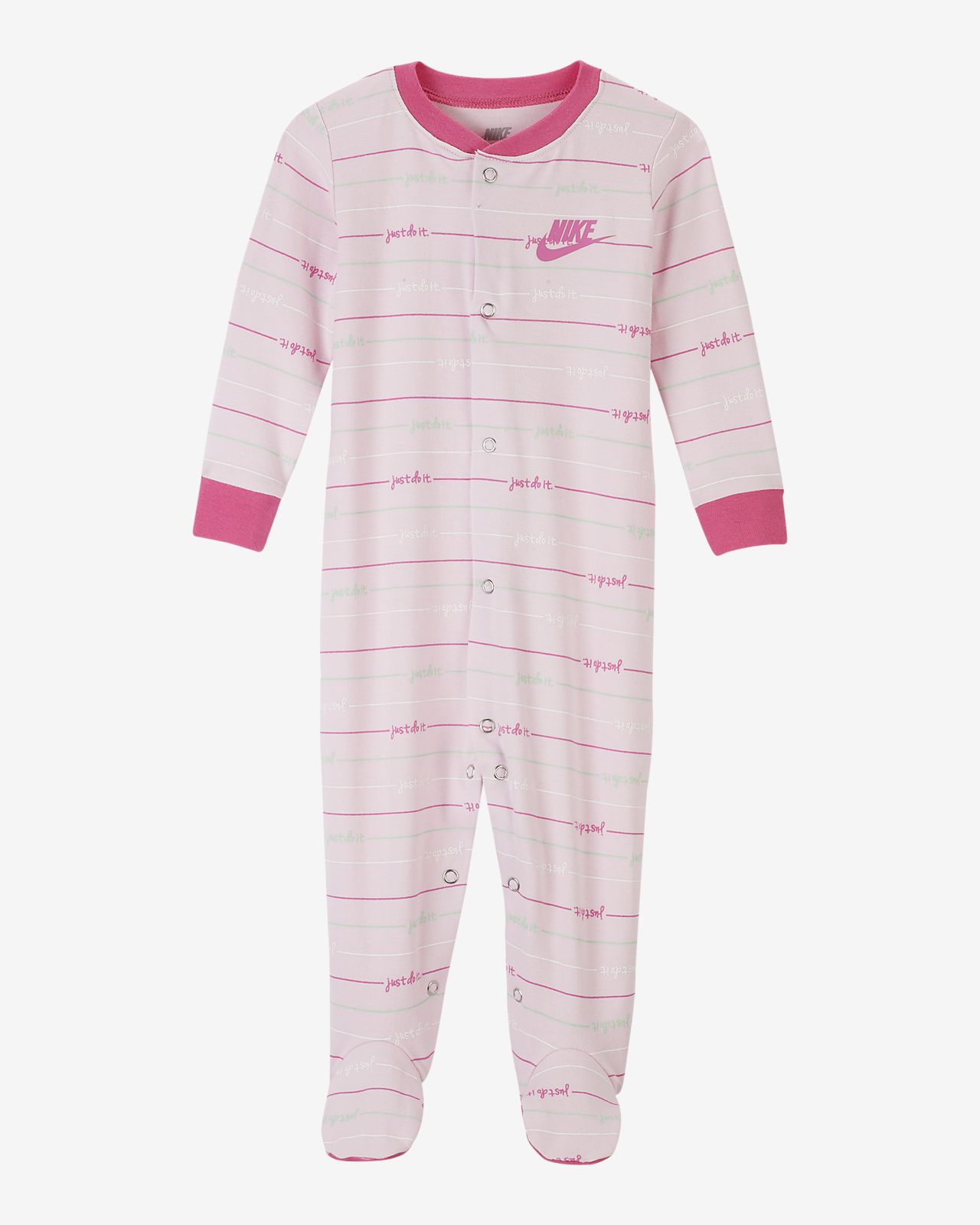 Nike Baby (0–9M) Footed Overalls