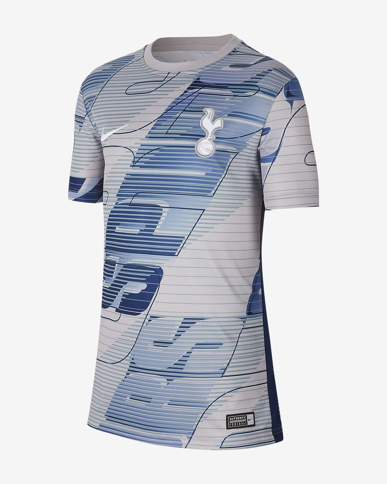 Tottenham Hotspur-kortærmet fodboldtrøje til børn