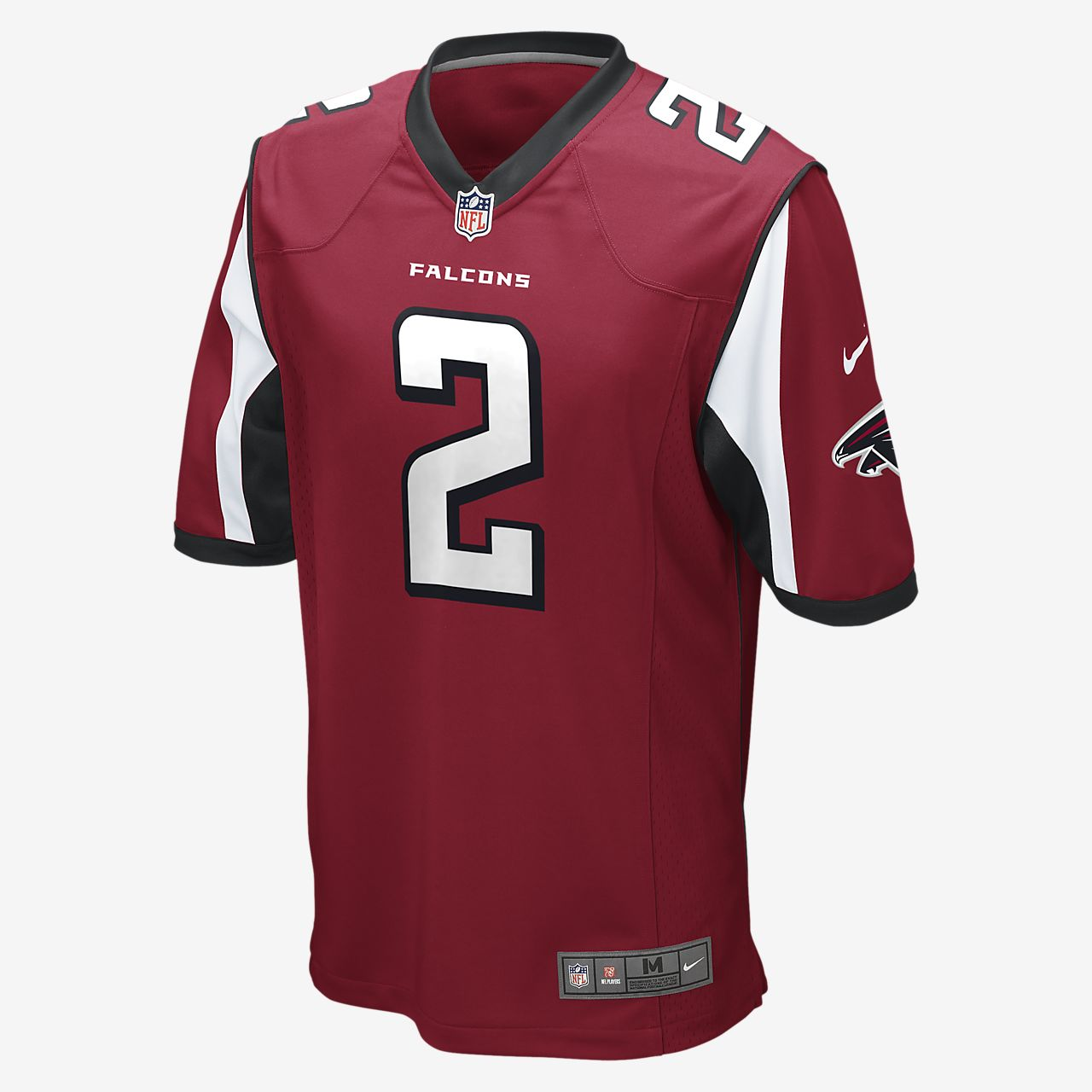NFL Atlanta Falcons (Matt Ryan) Men's Football Home Game Jersey