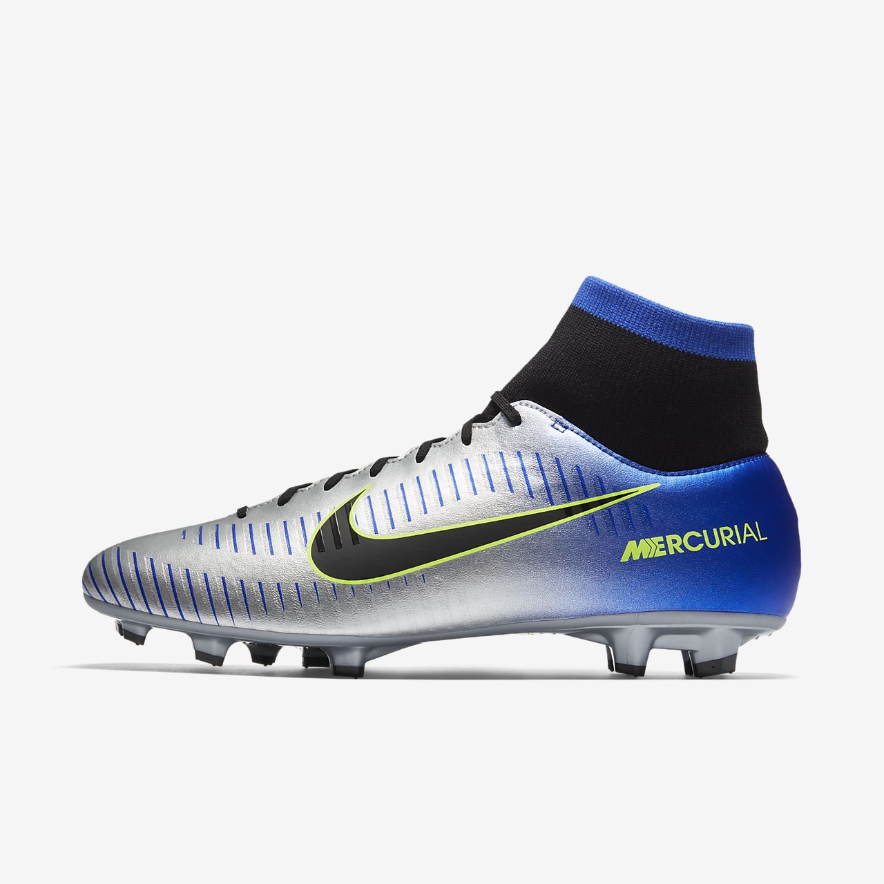 ... Chaussure de football à crampons pour terrain sec Nike Mercurial  Victory VI Dynamic Fit Neymar