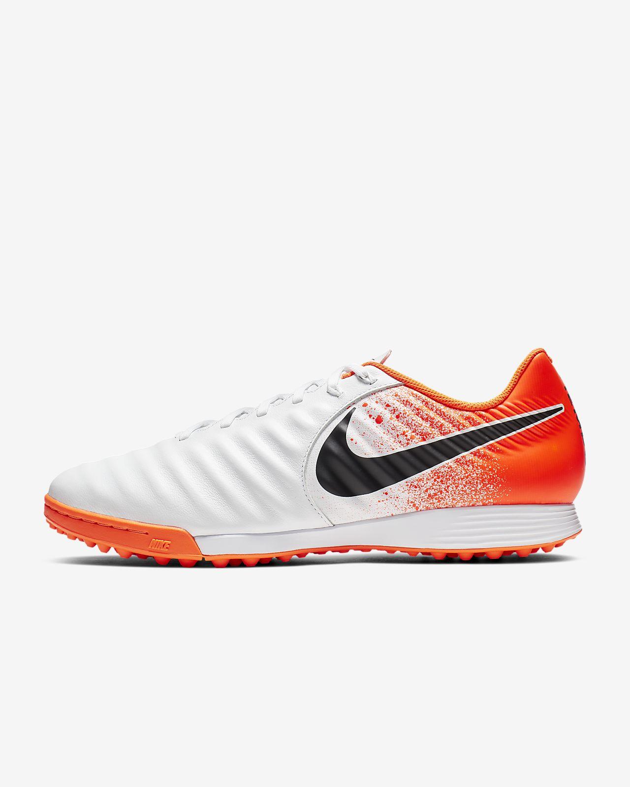 รองเท้าสตั๊ดฟุตบอลสำหรับพื้นสนามหญ้าเทียม Nike LegendX 7 Academy TF
