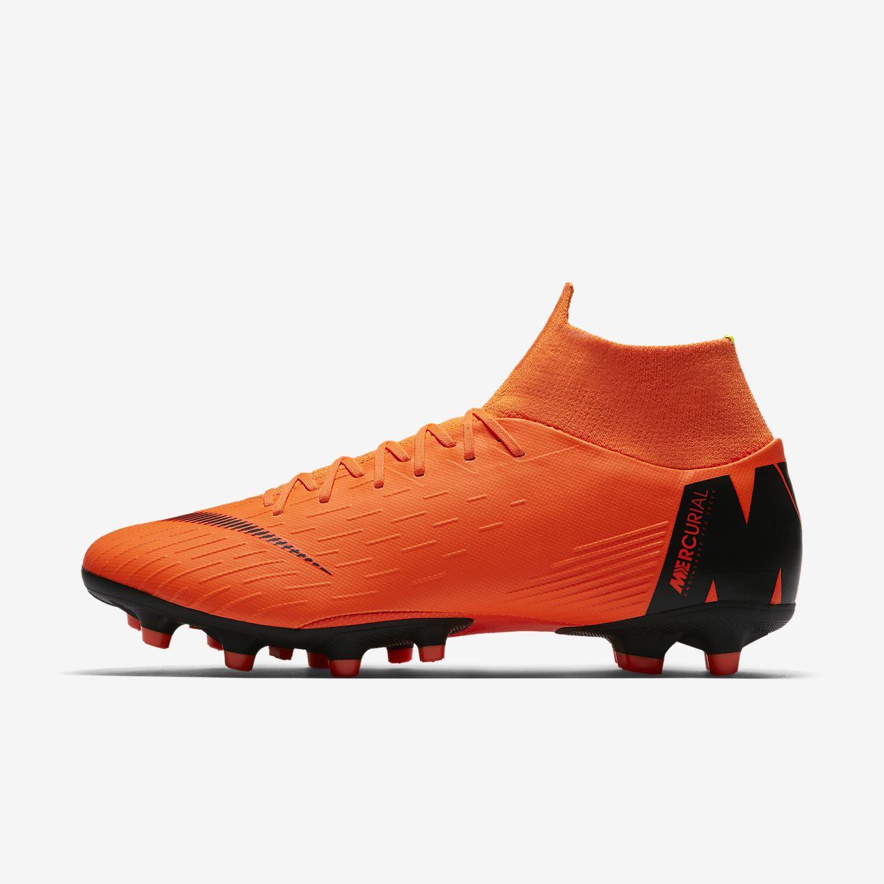 Nike Performance MERCURIAL SUPERFLY VI ELITE AG-PRO - Chaussures de foot à crampons - total orange / black / volt qYgy3