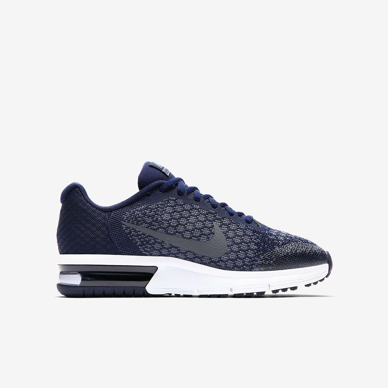 Gris Chaussures Nike Air Max Séquent À 47,5 Pour Les Hommes