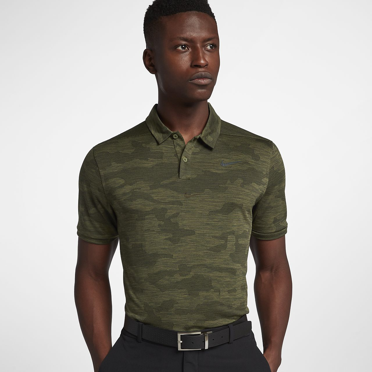 Nike Zonal Cooling Mens Camo Golf Polo Nike