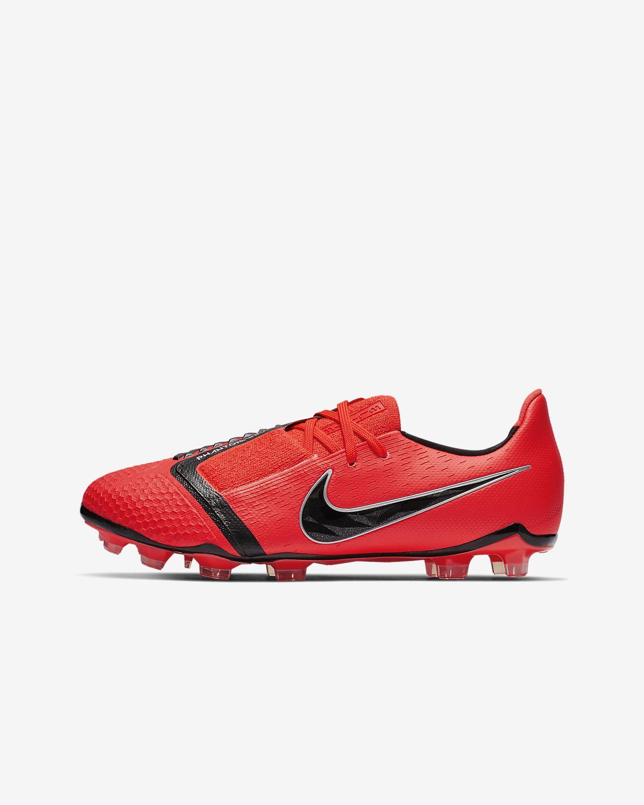 Chaussure de football à crampons pour terrain sec Nike Jr. PhantomVNM Elite Game Over FG pour Enfant plus âgé
