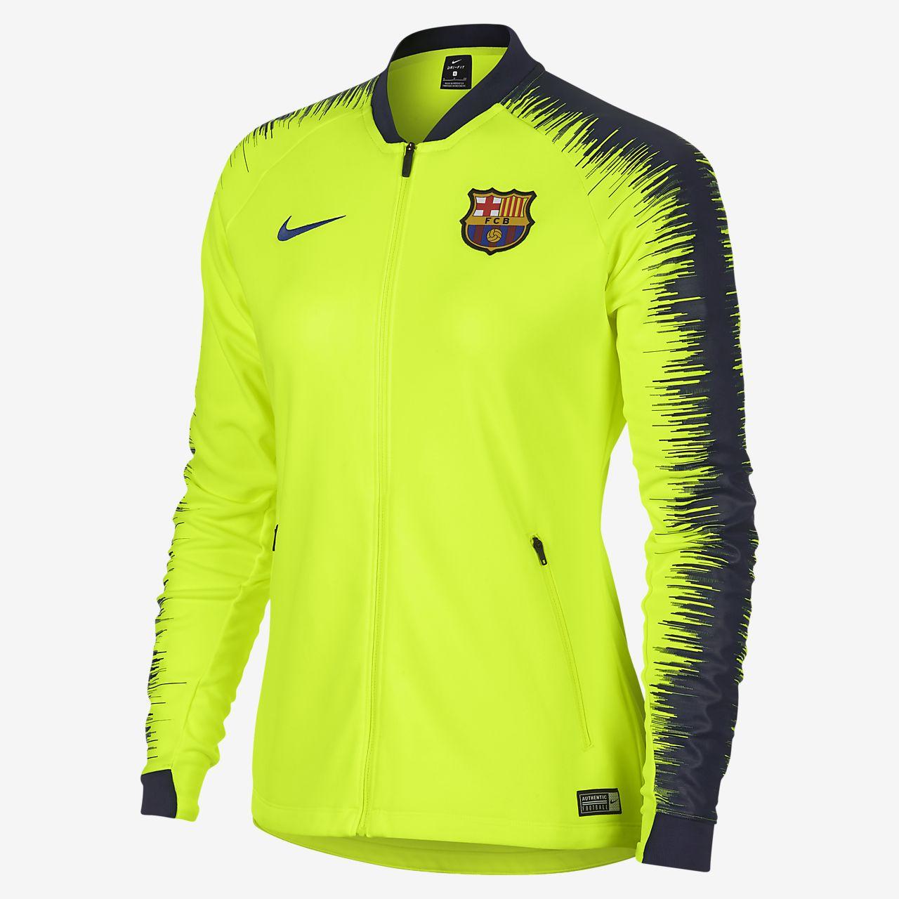 FC Barcelona Anthem Women s Football Jacket. Nike.com LU 26ea1e3ff4a