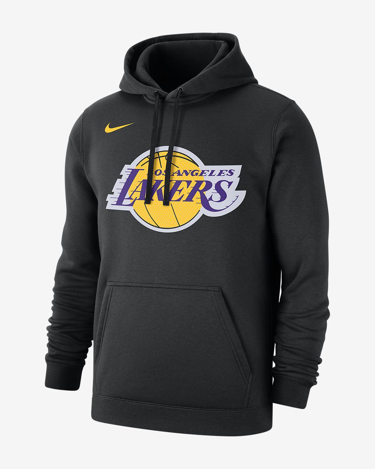 ロサンゼルス レイカーズ ロゴ メンズ ナイキ NBA パーカー