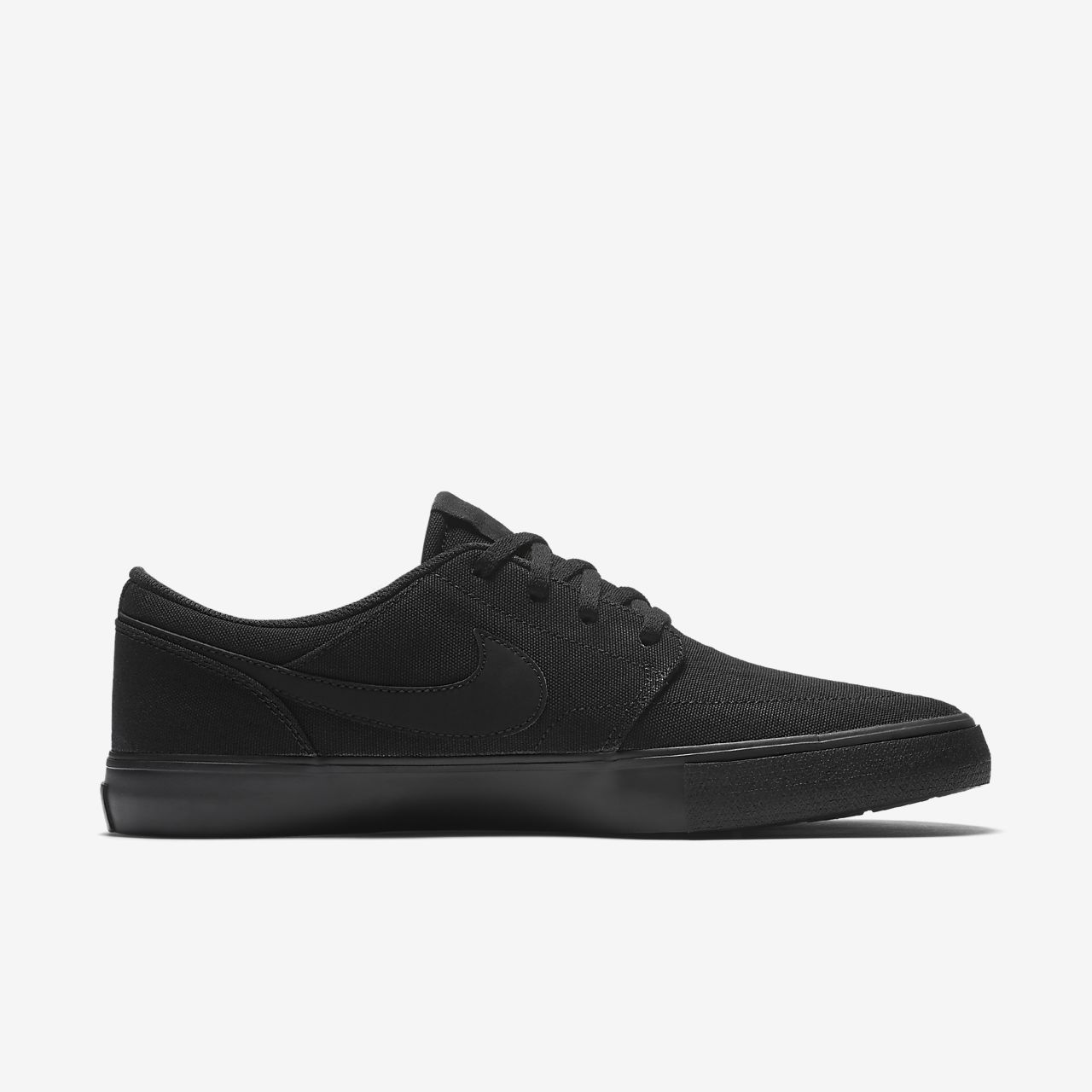 Portmore 2 Solar Skate Shoes BlackDark Grey