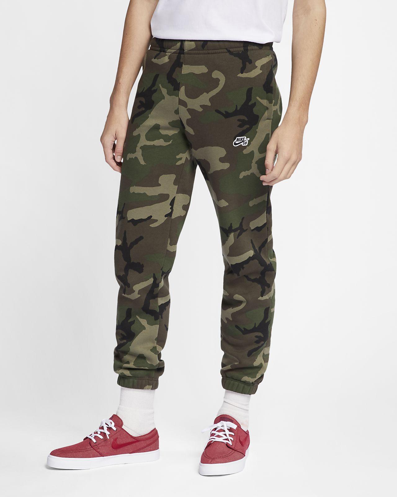 91facc4a908e Nike SB Icon Men s Camo Skate Pants. Nike.com
