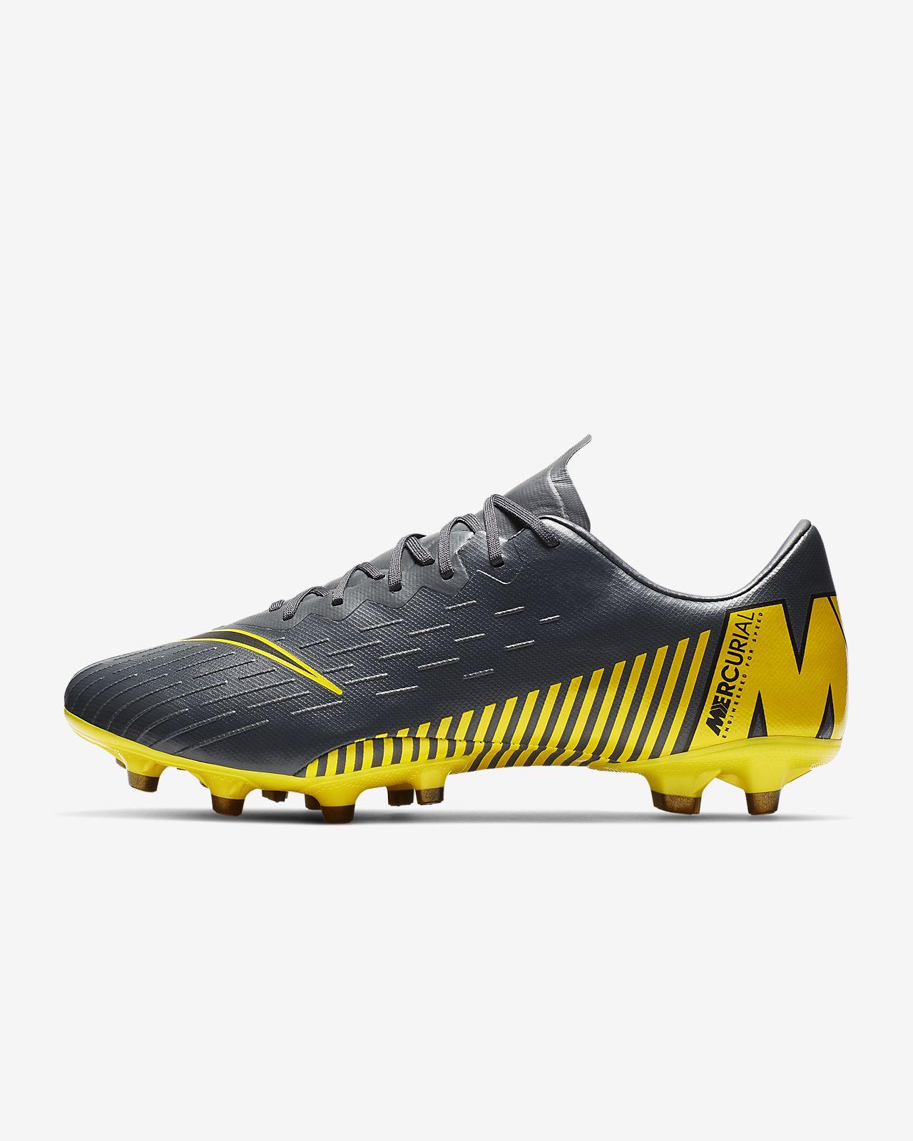 9848dd6249ad0 ... Chaussure de football à crampons pour terrain synthétique Nike  Mercurial Vapor XII Pro AG-PRO