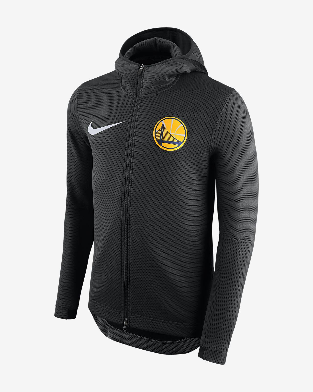 0bb501b0535 Golden State Warriors Nike Therma Flex Showtime Men s NBA Hoodie ...