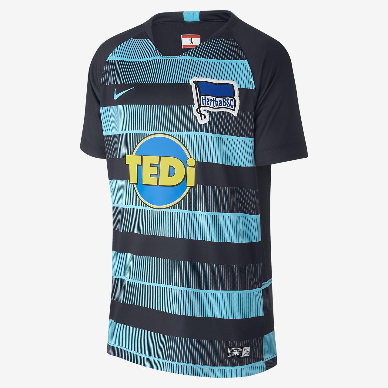 2018/19 Hertha BSC Stadium Away Older Kids' Football Shirt