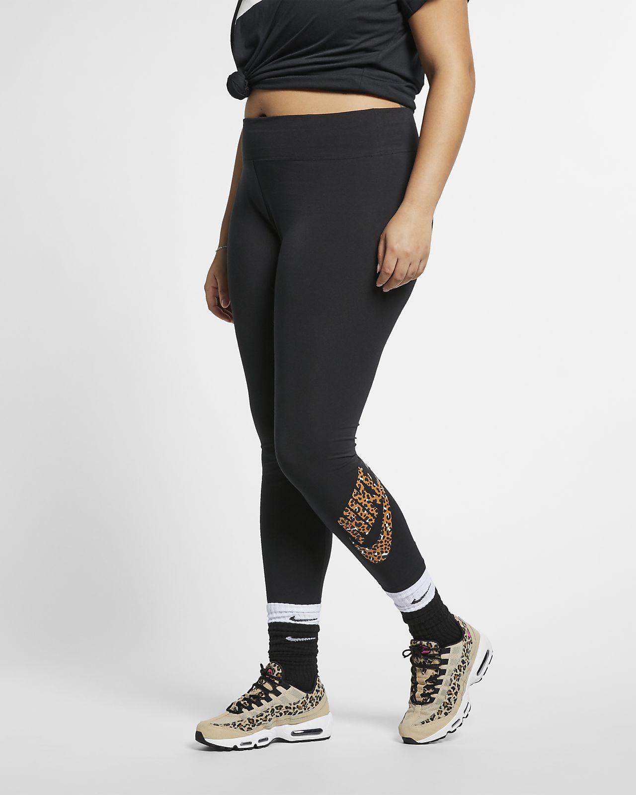 Nike Sportswear Animal Print Women's Leggings (Plus Size)