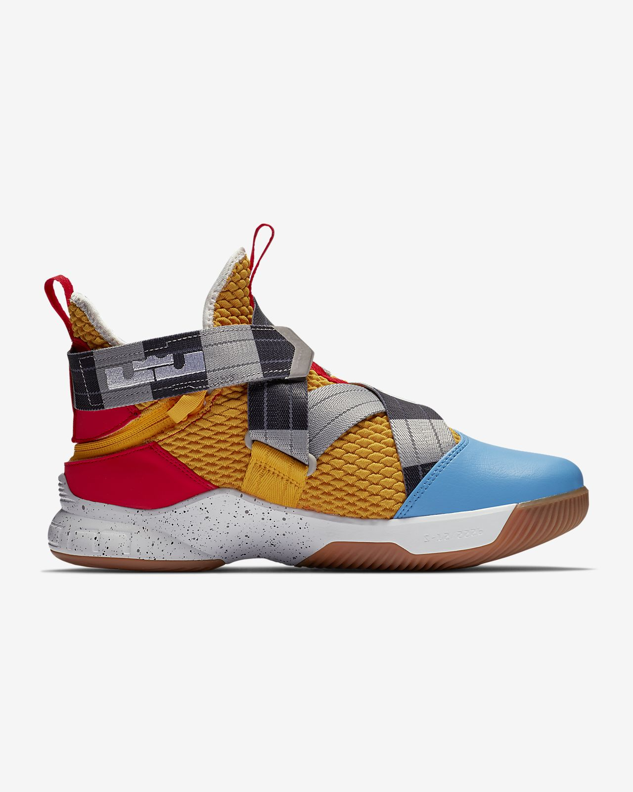 bb9d5674a35cf LeBron Soldier 12 FlyEase (Extra-Wide) Men s Basketball Shoe. Nike.com