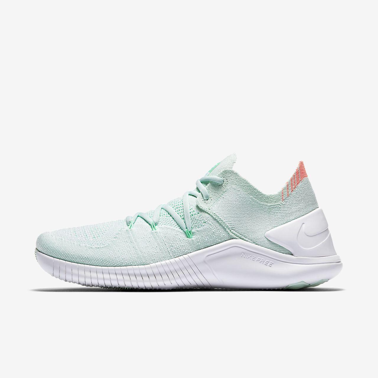 Nike Free TR Flyknit 3 Damen-Trainingsschuh - Grün Xgdq0