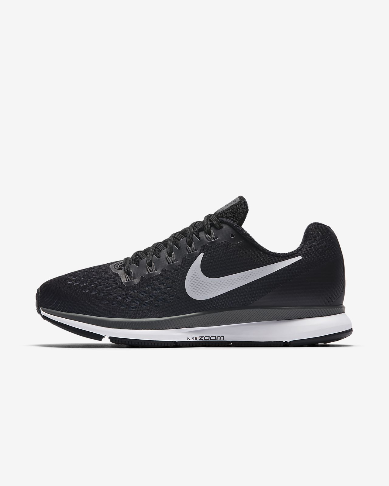 NIKE Womens Nike Air Zoom Pegasus 34 880560-003 BLACK Size 5