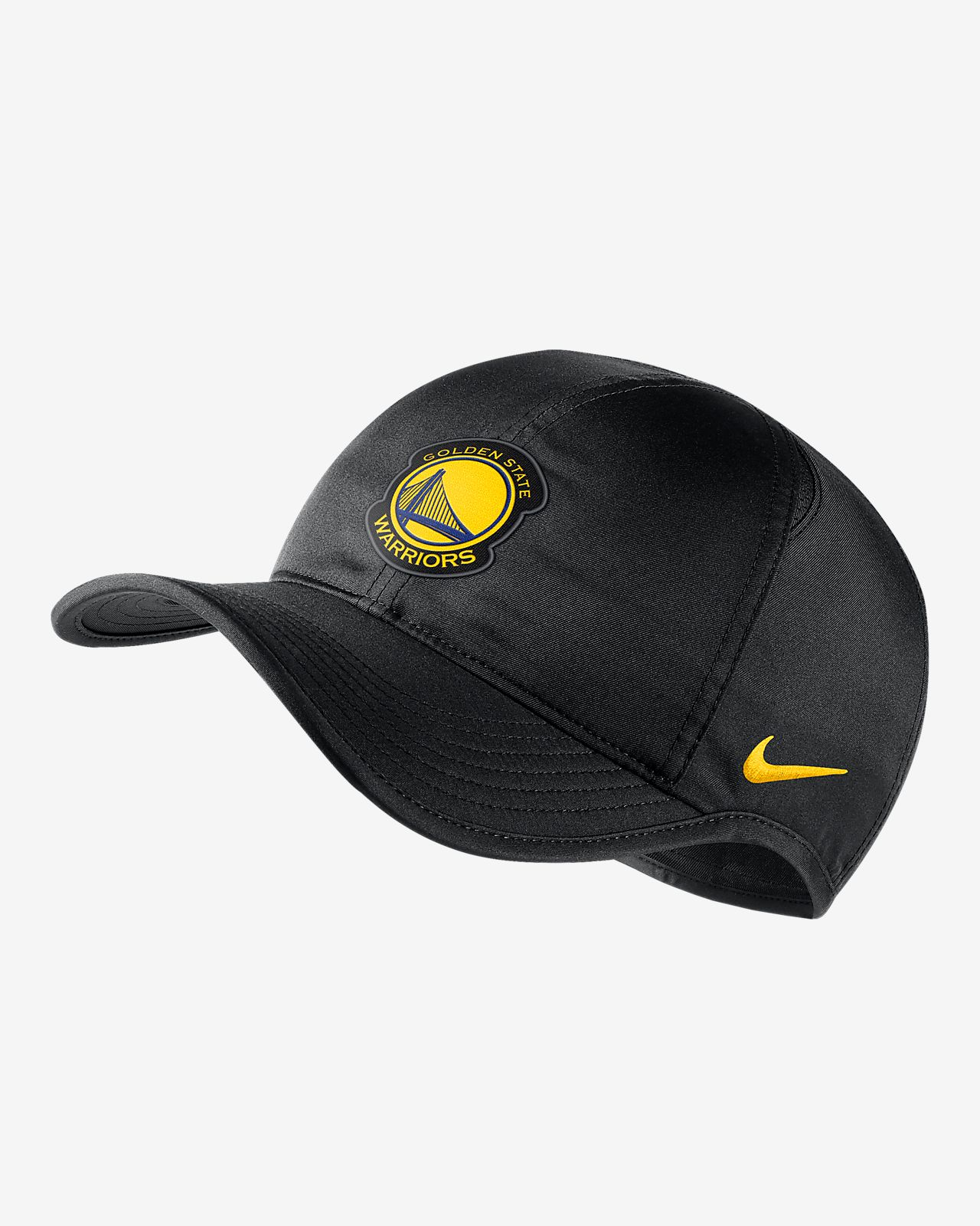 Golden State Warriors Nike AeroBill Featherlight NBA Hat. Nike.com 2ea2b2bdda6