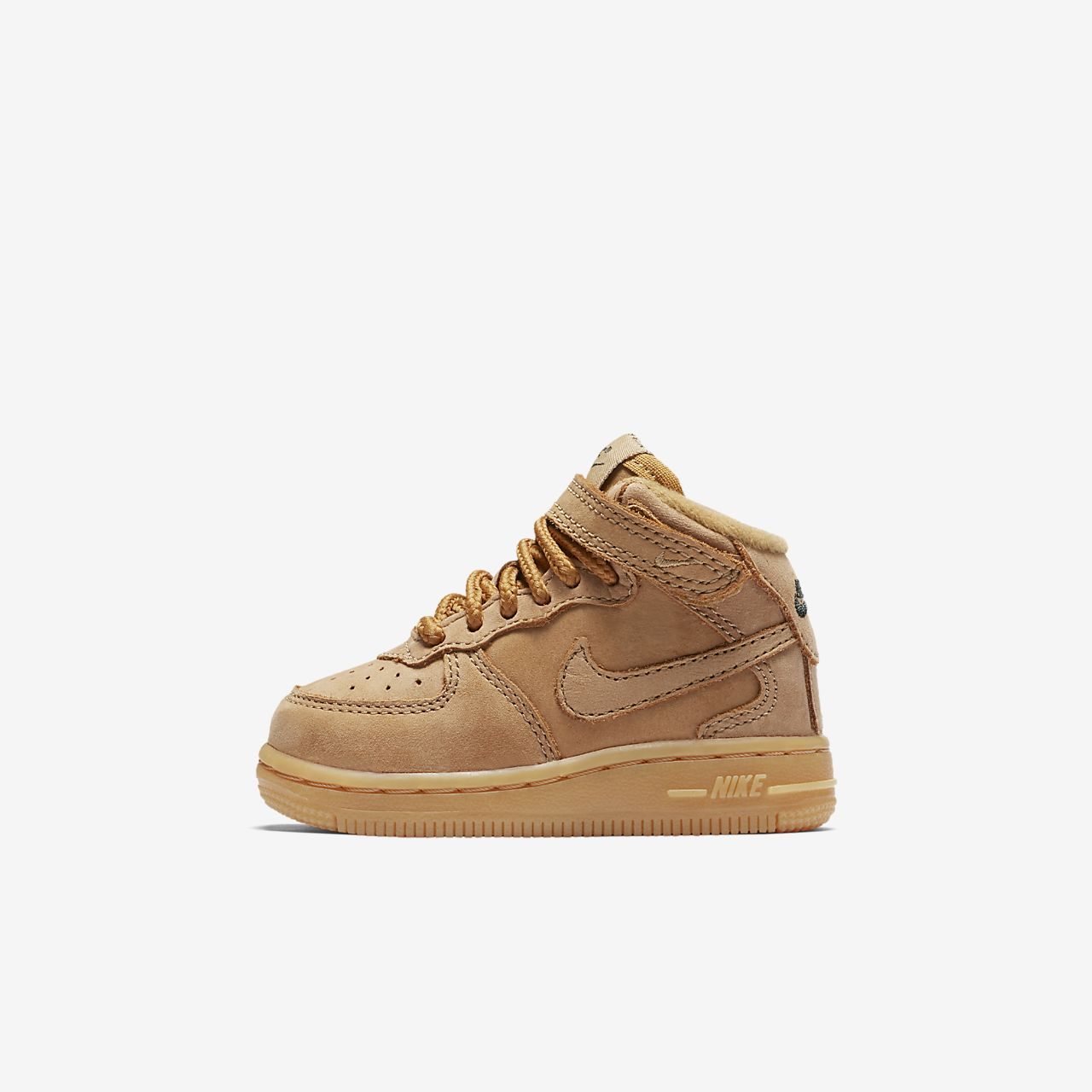 Nike Air Force 1 Mid marrone