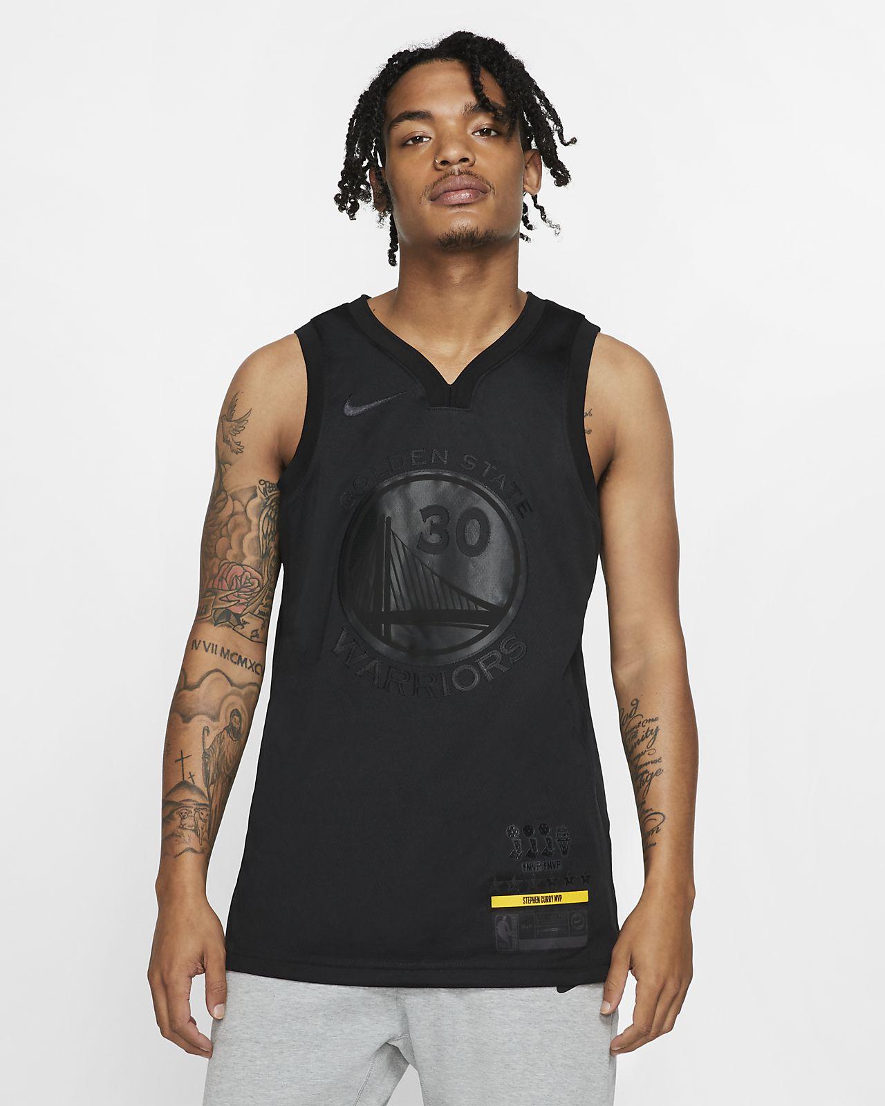 Stephen Curry MVP Swingman (Golden State Warriors)-Nike NBA Connected-trøje til mænd