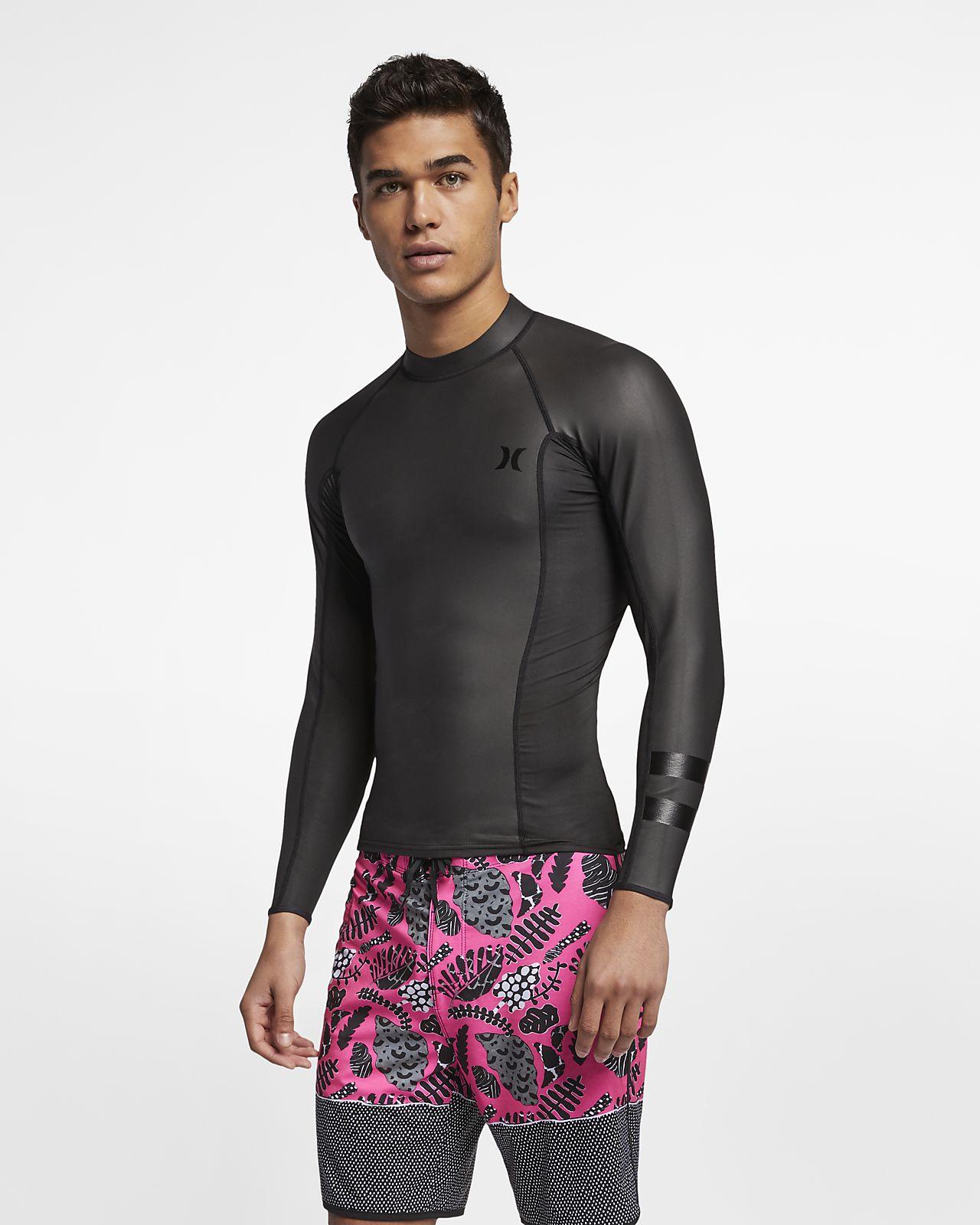 Prendas para la parte superior manga larga para surf para hombre Hurley Pro Max