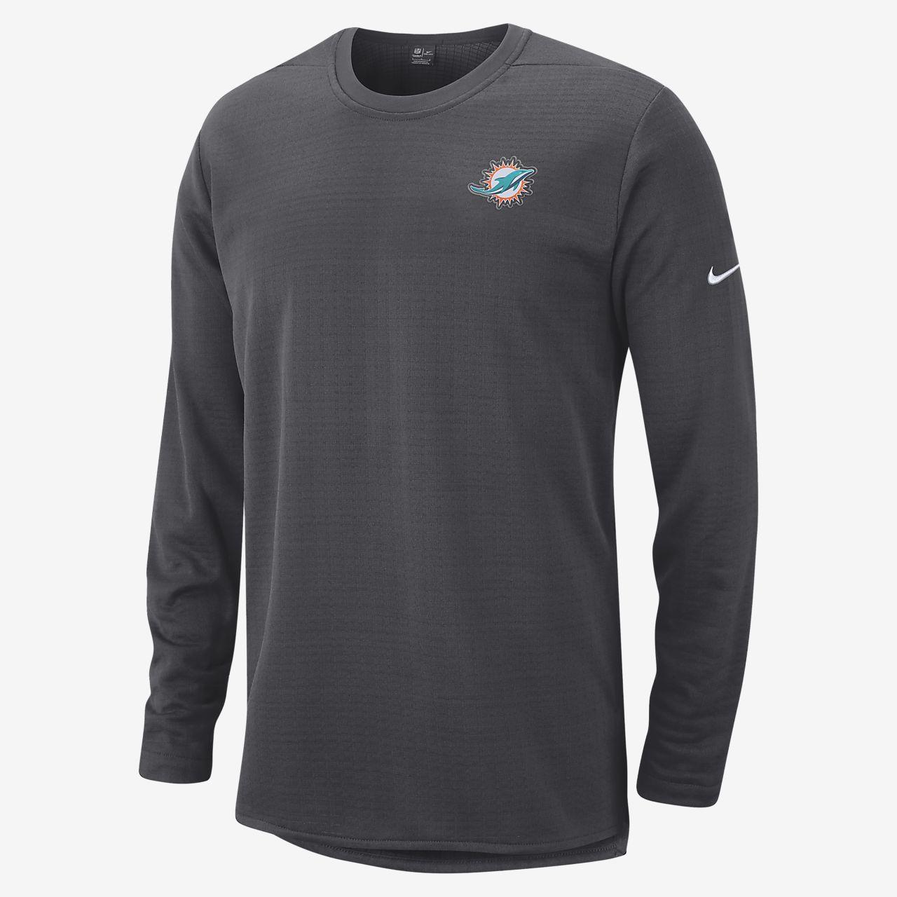 4fdf6864 Nike Modern (NFL Dolphins) Men's Long Sleeve Top. Nike.com