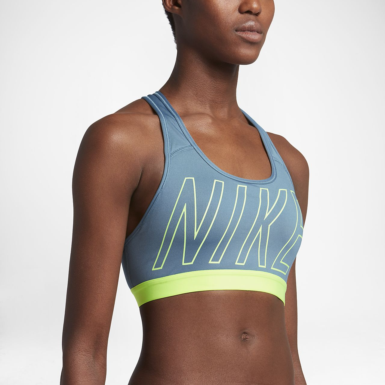 0c7e81e18c Nike Classic Women s Medium Support Sports Bra. Nike.com SG