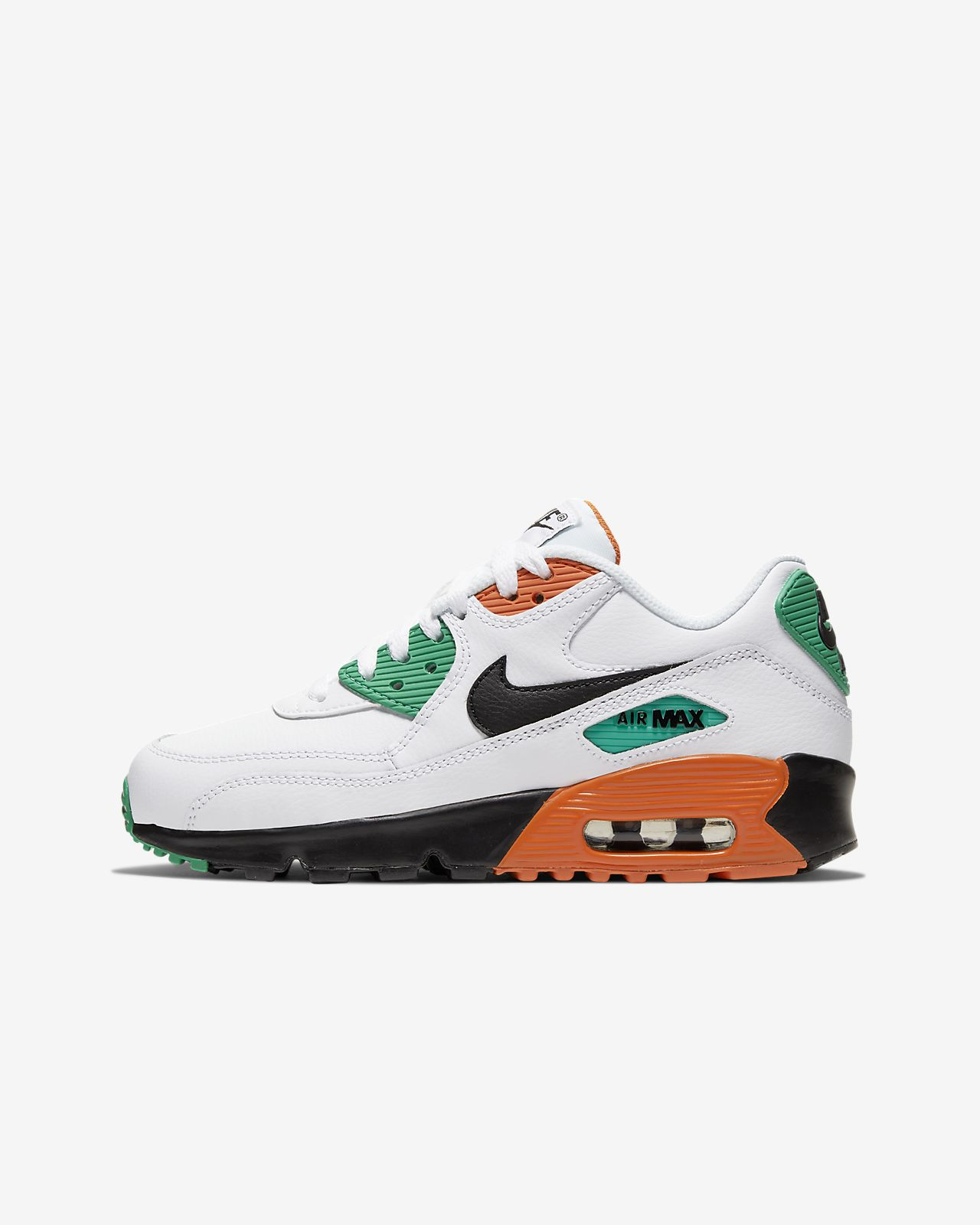 huge discount 5e1f5 fca16 Nike Air Max 90 Leather Big Kids' Shoe