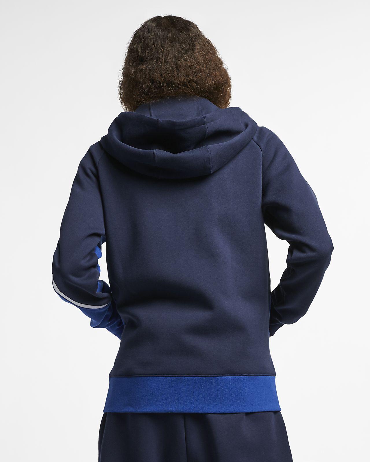 f3a74062b757 Ανδρική μπλούζα με κουκούλα και φερμουάρ Nike Sportswear. Nike.com GR