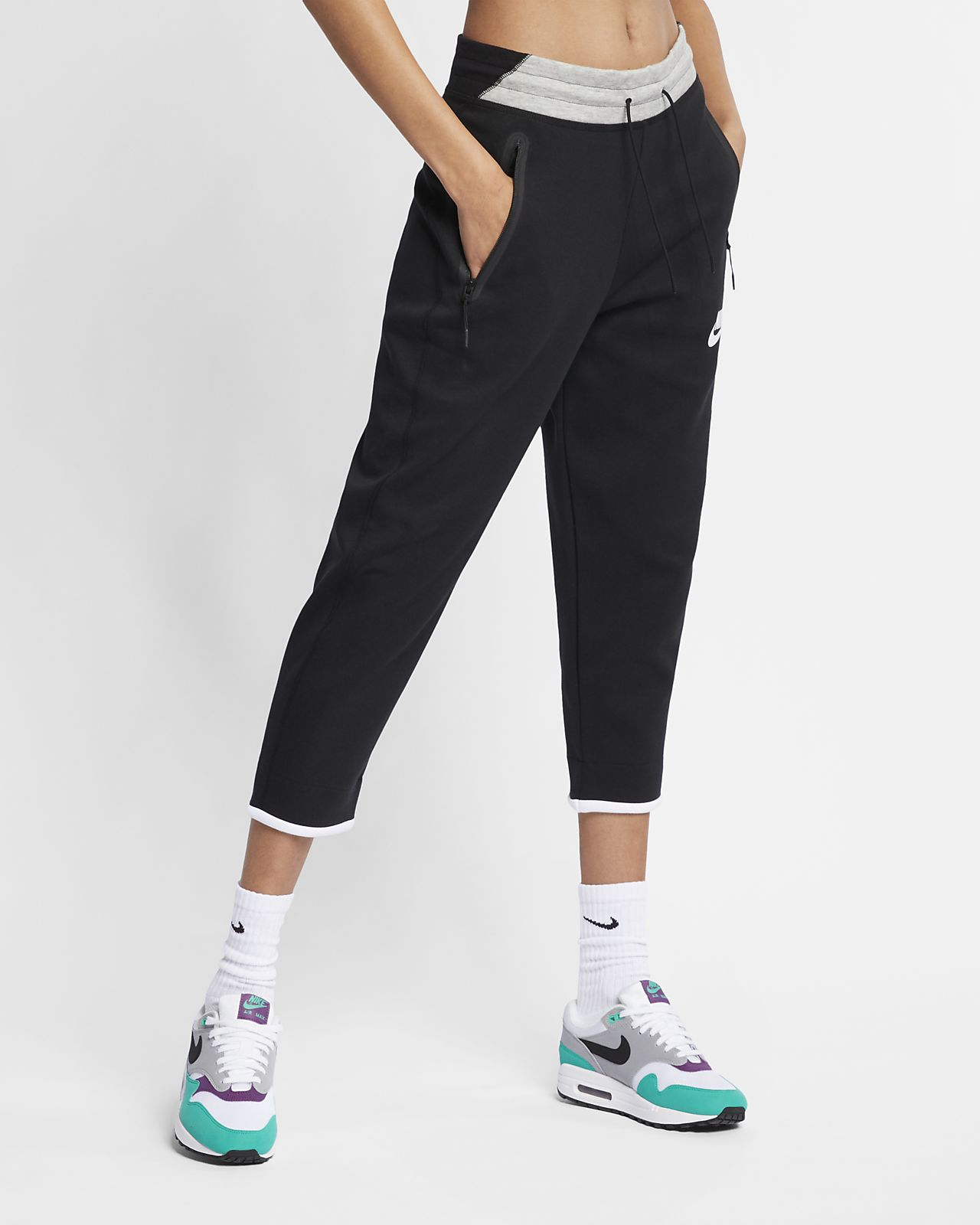 pantalon noir nike femme