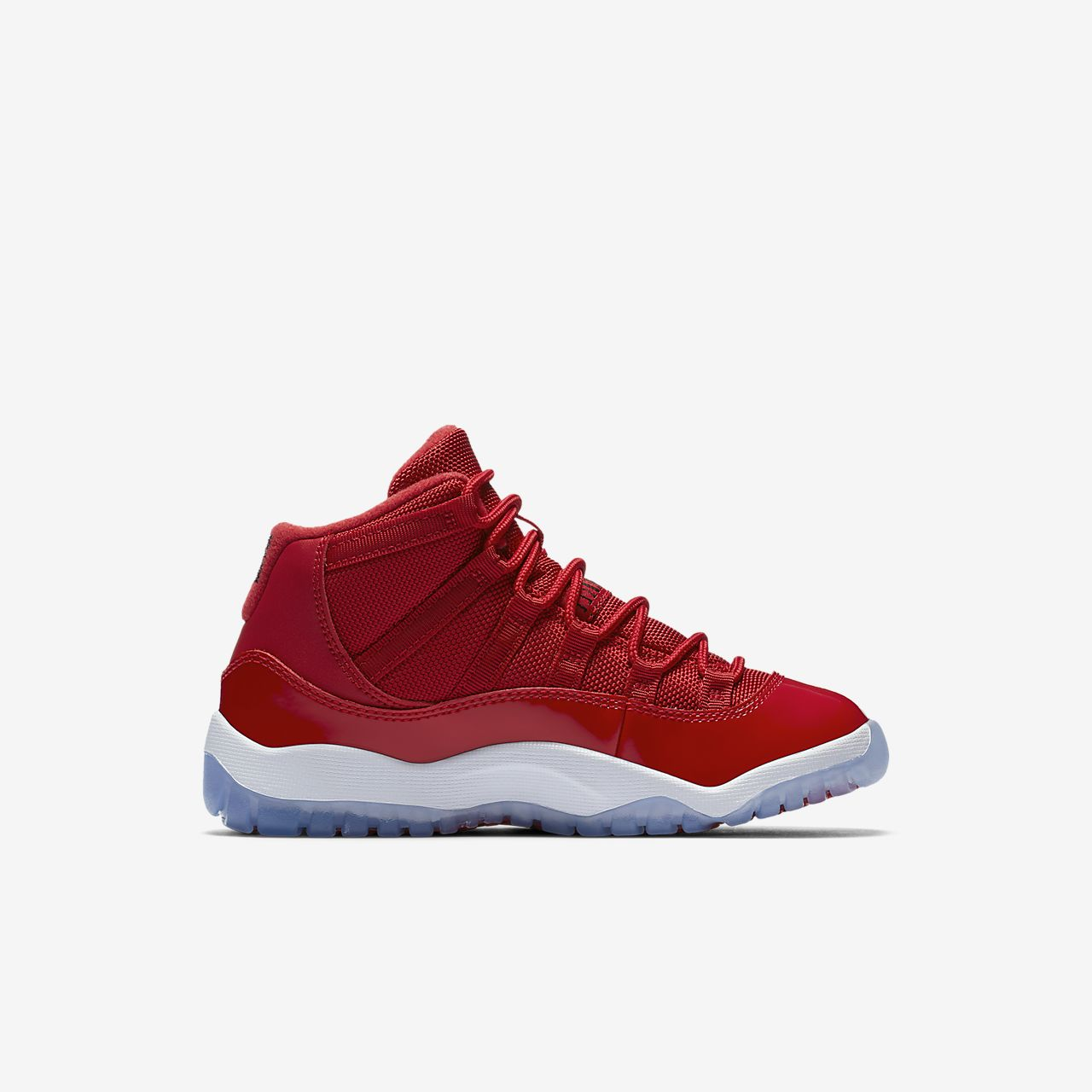 ... Air Jordan XI Retro Three-Quarter Younger Kids' Shoe