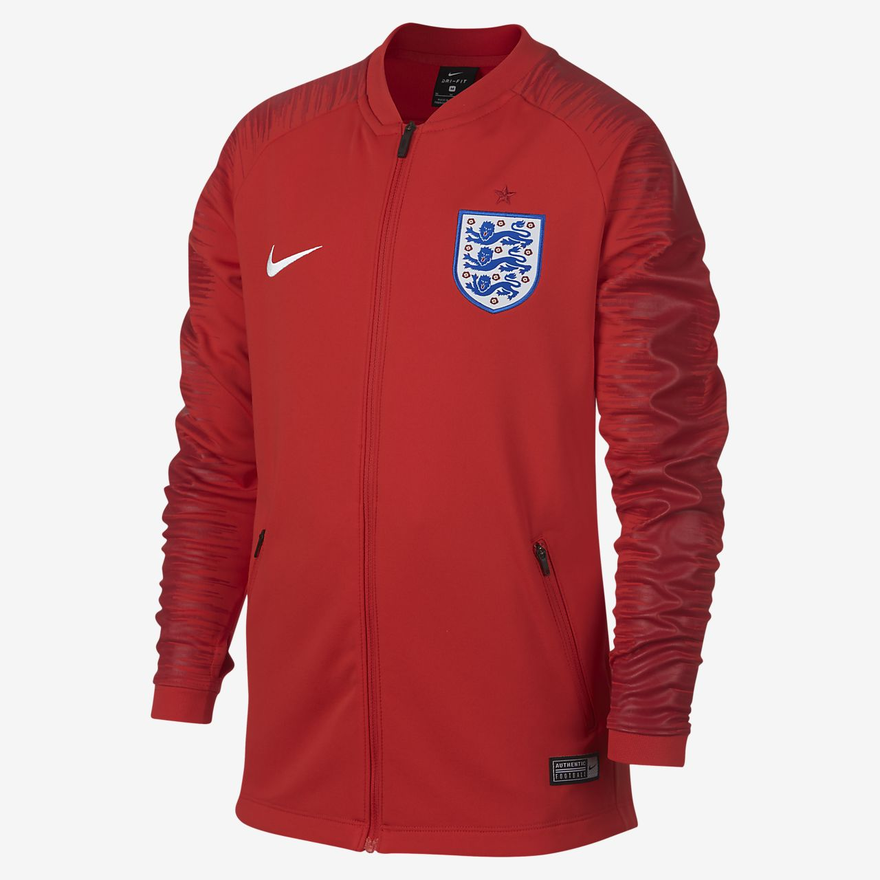 England Anthem Older Kids' Football Jacket