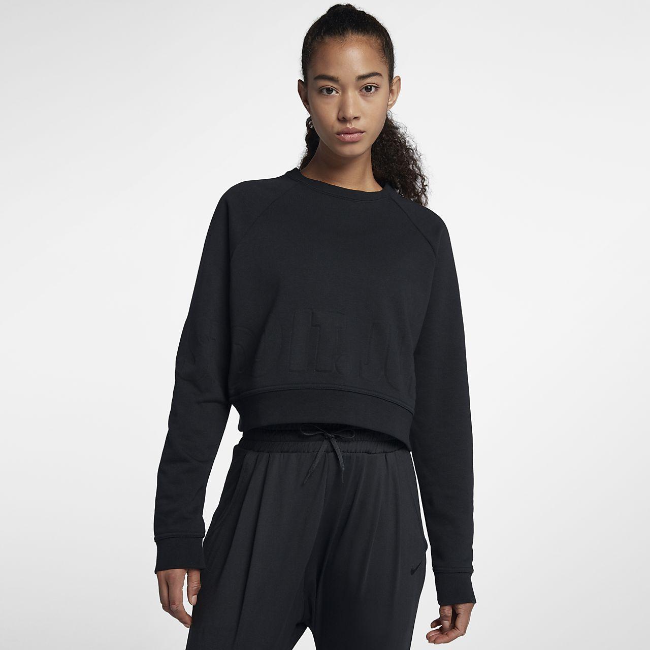 ... Nike Women's Long-Sleeve Training Top