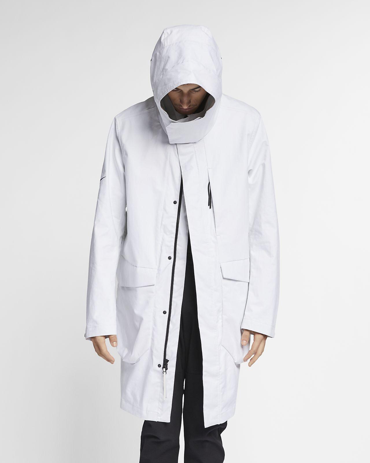 Nike Parka Tech Pack Beige Damen Kleidung Jacken Casual