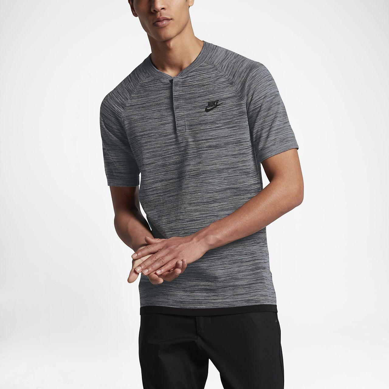 Nike Sportswear Tech Knit 男子翻领T恤