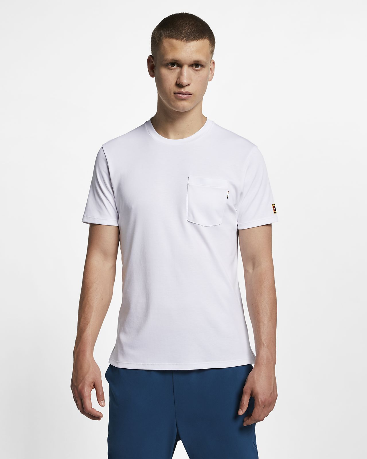 NikeCourt Men's Short-Sleeve Tennis Top